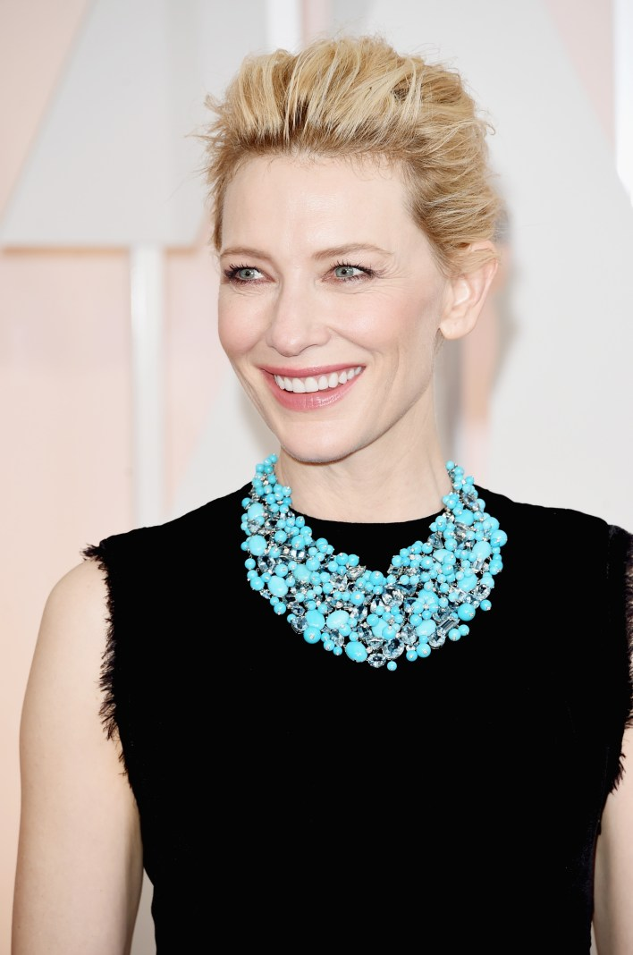 HOLLYWOOD, CA - FEBRUARY 22: Actress Cate Blanchett attends the 87th Annual Academy Awards at Hollywood & Highland Center on February 22, 2015 in Hollywood, California. (Photo by Jason Merritt/Getty Images)